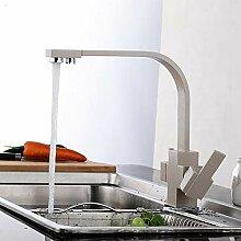 FZHLR Massives Messing Küchenarmatur Mit