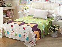 fzw Textilien Heimtextilien Bettwäsche (ohne Kissenbezüge) ( Farbe : C , größe : 200*230 )