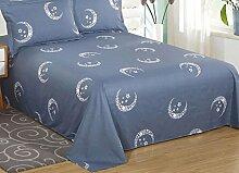 fzw Textilien Heimtextilien Bettwäsche (ohne Kissenbezüge) ( Farbe : K , größe : 120*230 )