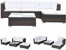 FZYHFA Gartenmöbel-Set, 14-teilig, aus