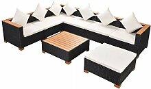 FZYHFA Gartenmöbel-Set, 22 Stück, aus