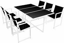 FZYHFA Gartenmöbel-Set für den Außenbereich,