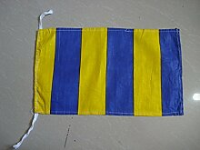 G–International Maritime Signal Code Flagge, 100% Baumwolle, 20,3x 33cm–Marine/Nautical/Boo