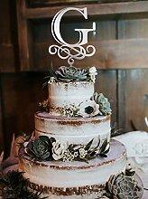 g Cake Topper Hochzeit Cake Topper Tortenaufsatz