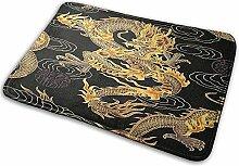 G.H.Y Chinesischer Drache Goldene und Schwarze
