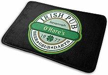 G.H.Y Irish Pub zum Anpassen Outdoor Indoor Mat