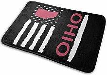 G.H.Y Vintage Ohio State America Flagge Eingang