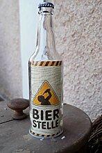G.Handwerk Glas LED Flaschen mit Kronkorken und