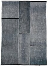 G.T.DESIGN Luoghi Borghi Teppich 205x295cm, grey shade rus