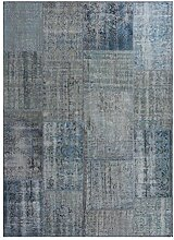 G.T.DESIGN MeatPacking Teppich, blau 170x240cm