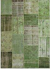 G.T.DESIGN MeatPacking Teppich, grün 200x300cm