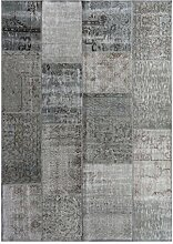 G.T.DESIGN MeatPacking Teppich, silber 170x240cm