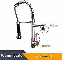 G0000D-Faucet Blacken Spring Küchenarmatur