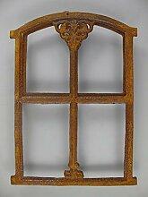 G1041: Gusseisen Fenster Eisenfenster Stallfenster Oben klappbar Gussfenster