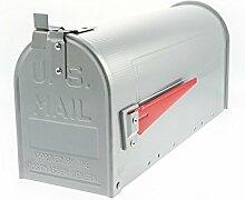 G2Trading Company 086Mississippi US Briefkasten, Aluminium,silberfarben