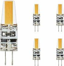 g4 led 12V, lampe warmweiß DC, Kobos-led® 5er