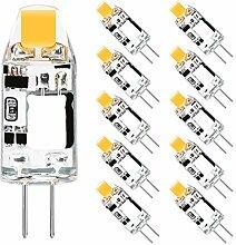 G4 LED 12V Warmweiß, Wowatt 10er LED G4 Lampe