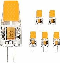 G4 LED Lampe, THled 5X G4 LED LED Lampe Warmweiß,