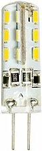 G4 LED Lamper 2 Watt 12V DC Warmweiß aus Silikon