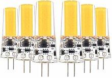 G4 LED Silikonlampe Doppelnadel COB