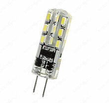 G4 LED (SMD) Spot - Silikonüberzogen, kein Glas!
