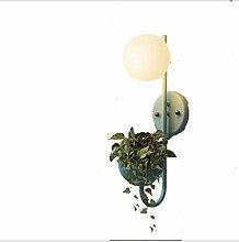 G9 Ball Wandlampe Glasschirm Macaron