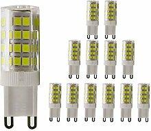 G9 LED 5W Lampe, 51X 2835SMD, 450LM, 220V, nicht