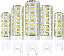 G9 LED Light Lampe, 5W Tricolor Led G9 Lampe 550