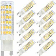 G9 LED Stecksockel Lampe 7W 600 Lumen, Warmweiß