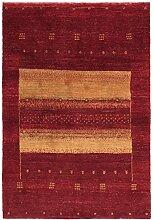 Gabbeh Design Teppich Orientalischer Teppich 154x104 cm Handgeknüpft Designer