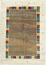 Gabbeh Design Teppich Orientalischer Teppich 242x176 cm Handgeknüpft Designer