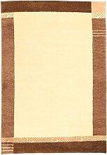 Gabbeh Indisch Teppich 140x200 Moderner Teppich