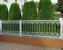 Gabella Monaco-Z140/200 Zink Metall / Gartenzaun