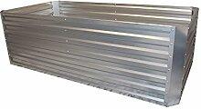 GABIONA Hochbeet für Balkon I Pflanzkübel für