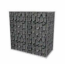 Gabione 100 x 50 x 100 cm befüllbarer Steinkorb