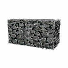 Gabione 100 x 50 x 50 cm befüllbarer Steinkorb