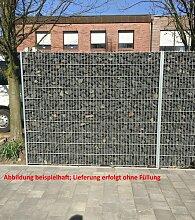 Gabione / Steinkorb Verzinkt Höhe 163 cm Länge
