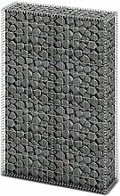 Gabionen mit Deckel, Wand Sitzfläche