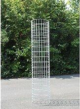 Gabionen-Säule Ø35 cm H:160 cm + kostenloser
