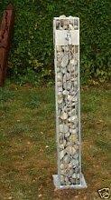 Gabionen Säulen feuerverzinkt 125cm Säule Stein