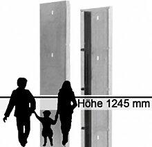 Gabionen-Zaunsystem SAPHIR - Zink - Höhe: 1245mm