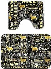 GABRI Französische Bulldogge Silhouette Zitate 2