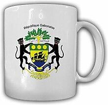 Gabun Flagge Fahne République Gabonaise - Tasse Becher Kaffee #13481