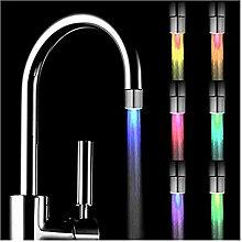Gaddrt Glühen Wasserhahn 7 Farbverlauf LED-Licht