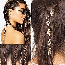 Gaddrt Haarnadel Diamant Haarspange Frauen Hip-Hop