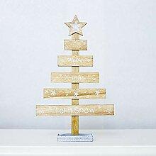 Gaddrt Weihnachten Holz hängen Holz Mini