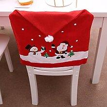 Gaddrt Weihnachtsmann-Küchentisch-Stuhl bedeckt
