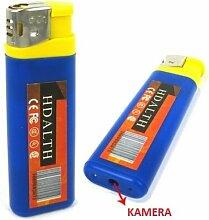 GadgetsForYou! Feuerzeug Mit Spycam Versteckte Spionage Kamera Getarnte Gehim Aufnahme Ton A22