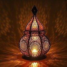 Gadgy ® Orientalische Lampe (36 cm) l Für Kerzen