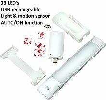 Gadgy ® USB Wiederaufladbare Schrankbeleuchtung